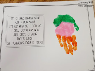 Handprint Calendar March