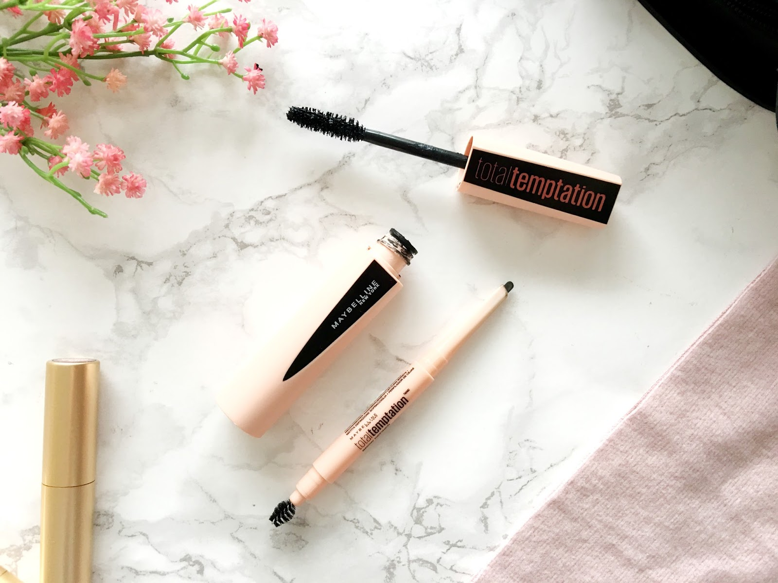 Maybelline Total Temptation Mascara and Brow Definer