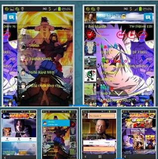 BBM MOD Naruto Shippuden New Terbaru 2016 Screenshot