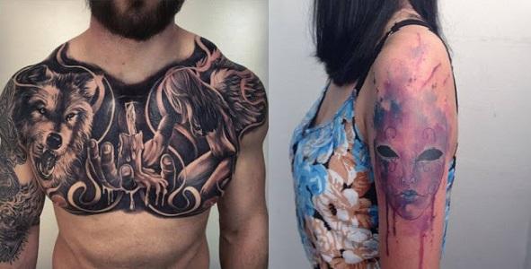 Erkek ve Kadın Dövme Çeşitleri 2018 - Tattoo