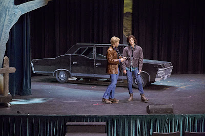 supernatural, 10x05, musical, episodio 200, sam winchester, dean winchester, jensen ackles, jared padalecki, fan fiction, el zorro con gafas