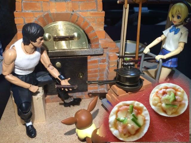 【有片】日網民自製迷你烤爐 整出話題薄餅