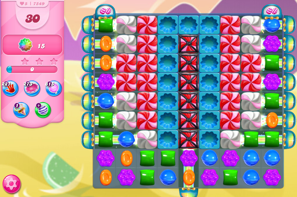 Candy Crush Saga level 7549