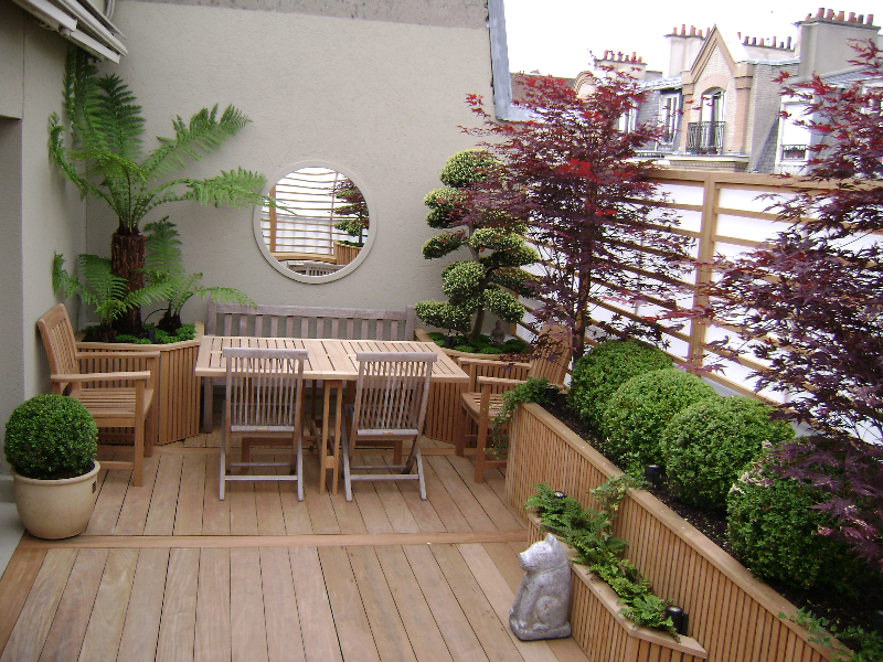 Trouver l 39 inspiration en vacances am nager l 39 ext rieur for Decoration exterieur terrasse