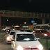 Congestionamento na Bernardo Vieira, em frente Midway Mall