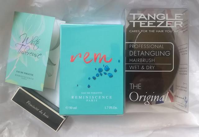 Ma première commande chez Origines-parfums.com : Réminiscence et Tangle Teezer. Par Lili LaRochelle