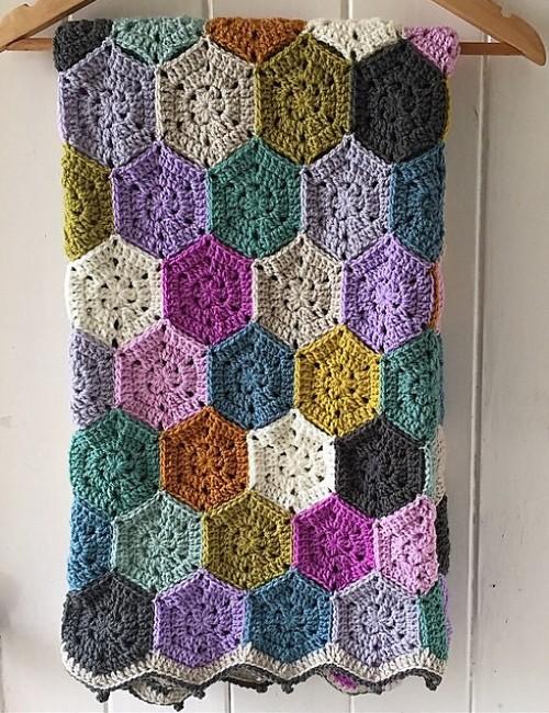 WeekEnder Blanket - Free Pattern