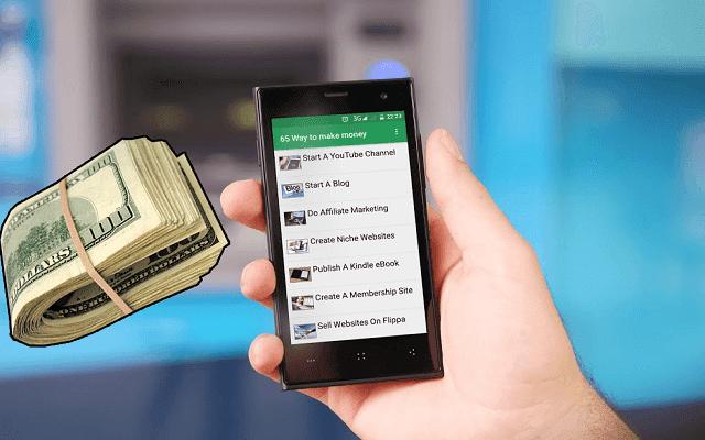 تطبيق بحجم 5 ميغا فقط سيجعلك تجني أرباحا بآلاف الدولارات شهريا بطرق مختلفة لن يشاركها معك أحد !