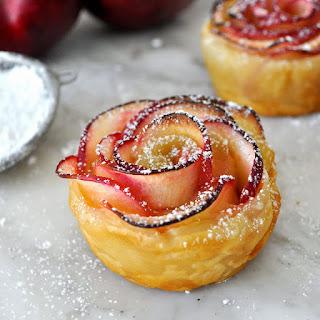 Resep Mudah Membuat Kue Apel Rose, Cemilan Bentuk Unik