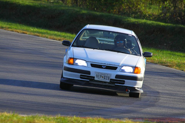 Gregory's Toyota Tercel track car comin' at ya!