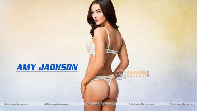 amy jackson bikini pics