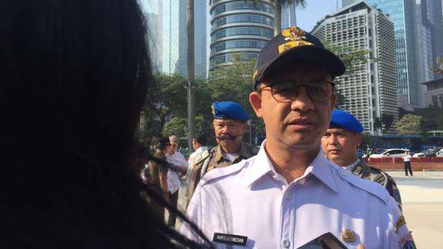Anies: Bendera Asian Games Pakai Bambu Khas Indonesia, Jangan Diejek