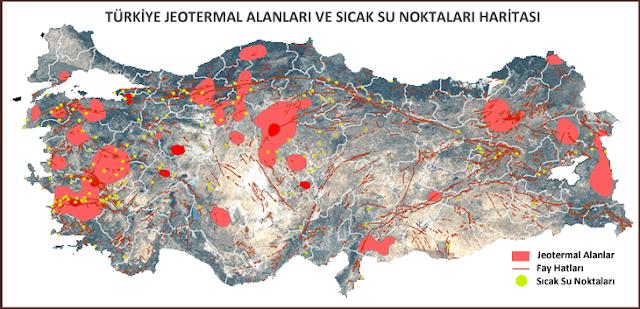 Çanakkale'nin 5 ilçesindeki 21 jeotermal sahası ihale edilecek.