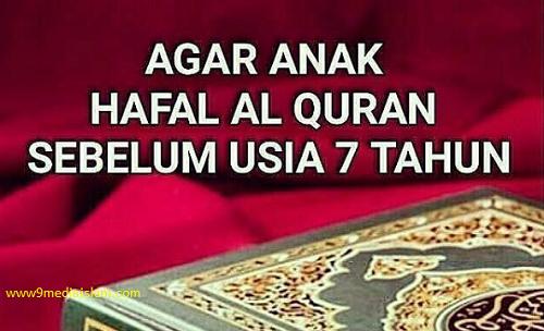 Apakah Anda Punya Mimpi Agar Anak Anda Hafal Al-Qur'an Sebelum Usia 7 Tahun...???, Insya ALLAH Mimpi Anda Akan Terwujud Dengan Metode Berikut Ini. Silahkan Baca Selengkapnya, Semoga Mimpi Anda Jadi Kenyataan Dengan Izin ALLAH S W T Amiiin...!!!