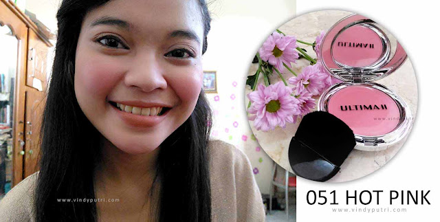 Review ULTIMA II Delicate Blush - 051 Hot Pink