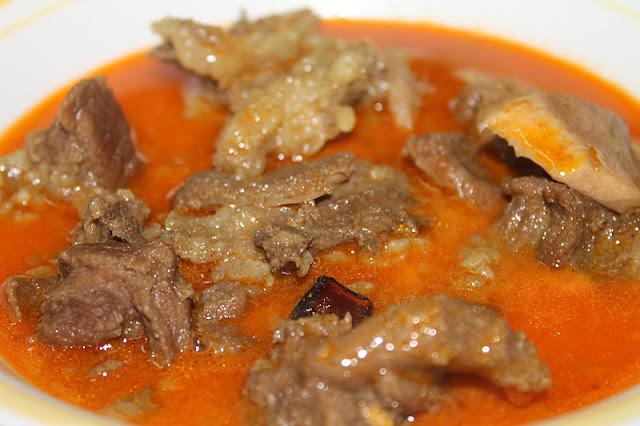 Gulai Kawah Daging Kambing Kelantan