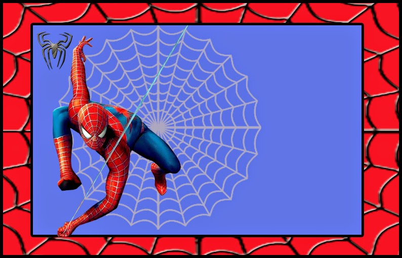 spiderman free printable invitations