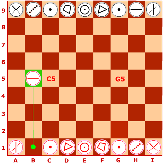 PREMILITARY INTRODUCTION OF 12 BEGINNING MOVES IN STANDARD GEOMETRIC CHESS