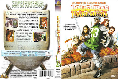 Filme Loucuras Na Idade Média DVD Capa