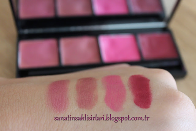 Pastel Pro Fashion Rouge Palette No: 04 Keep Calm | Pastel 4'lü Ruj Paleti