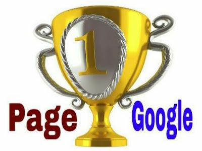 Inilah Rahasia Halaman Pertama Google AMPUH