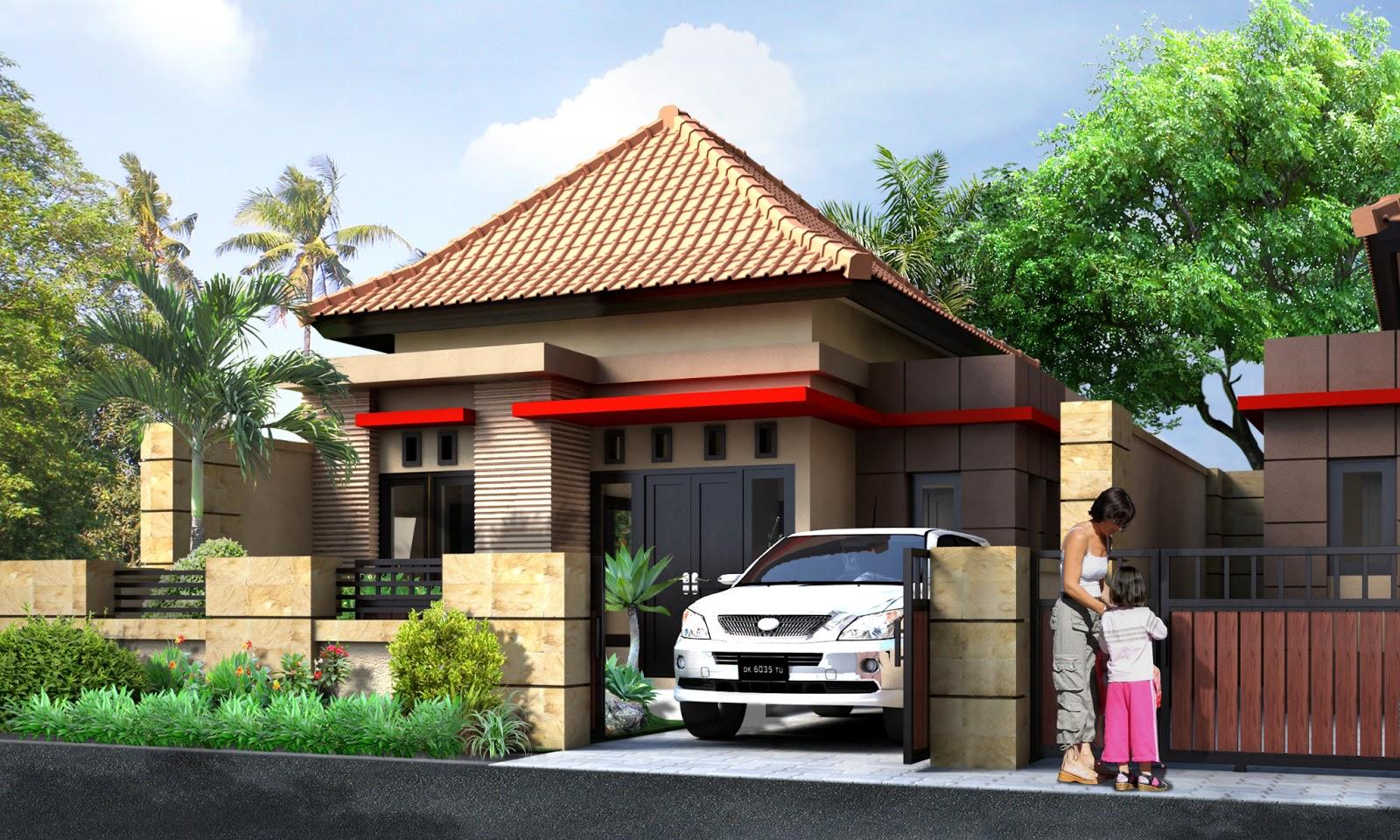 67 Desain Rumah Minimalis Style Bali Desain Rumah