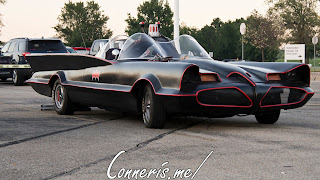 Adam West Batman Batmobile