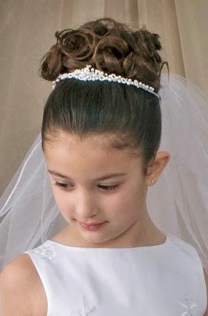 Peinados para ninos de primera comunion