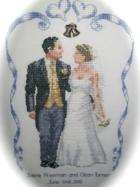 Stitchydondesign Wedding Sampler