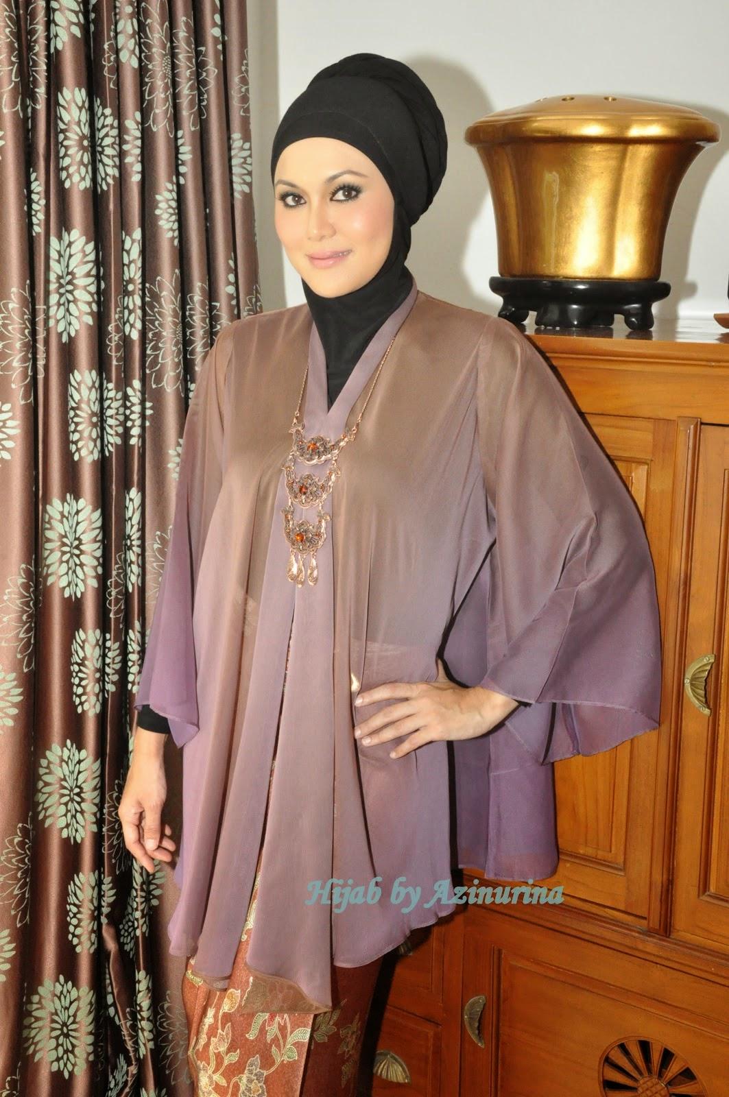 Model Baju Kebaya Terbaru Kimono Saloma 2016