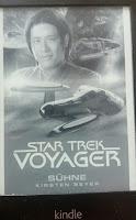 das Cover zeigt die Voyager und Harry Kim
