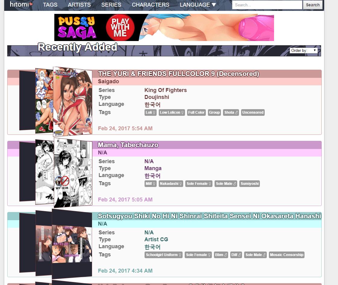 Quantas visitas os sites de Hentai recebem por mês?