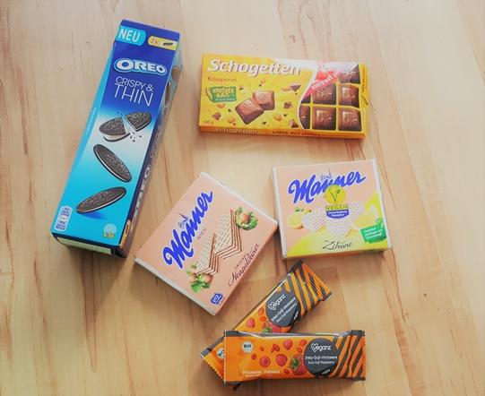 Inhalt, brandnooz box, Mai 2017, unboxing, knorr, food, essen, manner, oreo, leibniz,