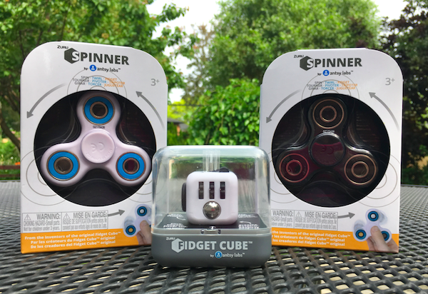 Fidget Cubes and ZURU Spinners