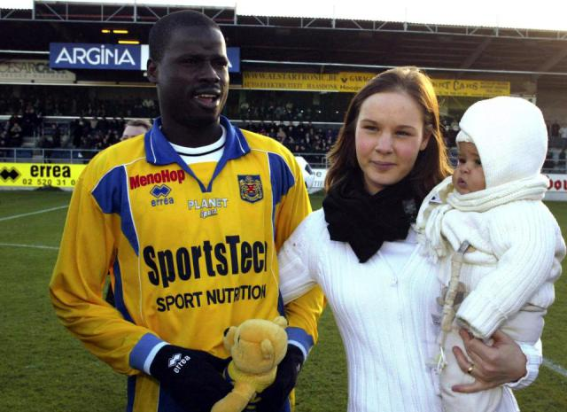 Update: See Face Of Emmanuel Eboue's Ex-wife Who Took Everything He Had After Divorcing Her