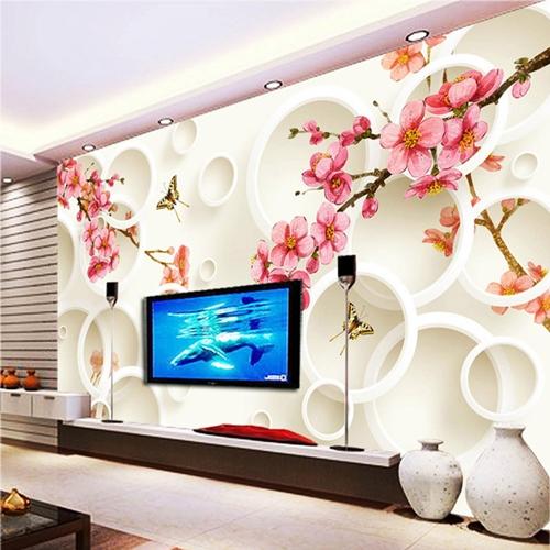interior design trends 2017 - wall motifs