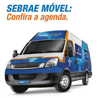 Sebrae Móvel prestará atendimento em três cidades do Vale do Ribeira ainda em junho