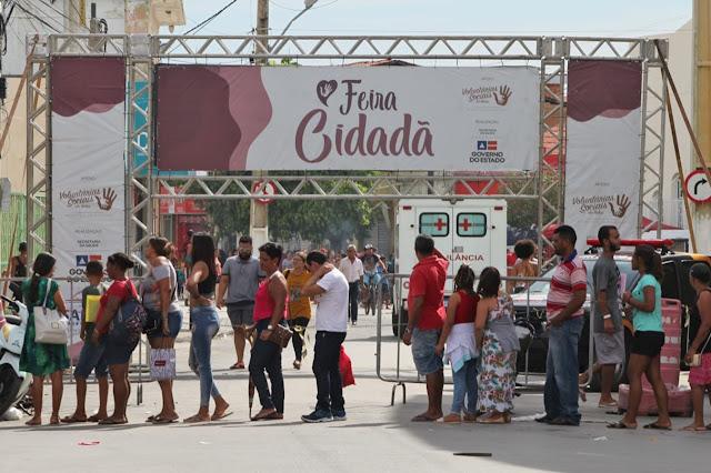 Santa Maria da Vitória recebe Feira Cidadã com previsão de mais de 15 mil atendimentos
