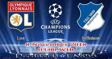 Prediksi Bola855 Lyon vs Hoffenheim 8 November 2018