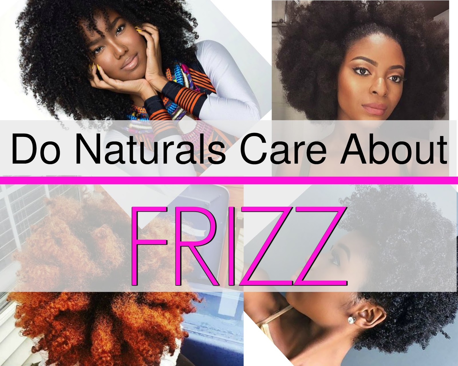 Frizz & How To Stop It from Ruining Your Natural Hair is easy to do. Frizzy hair does not have to be your enemy and we've got ways to stop it
