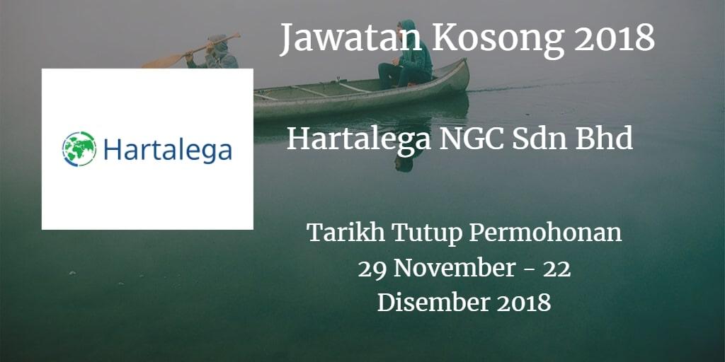 Jawatan Kosong Hartalega NGC Sdn Bhd 28 November - 09 Disember 2018