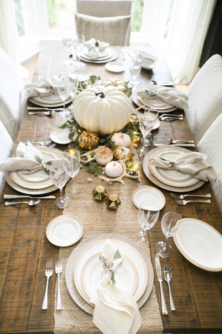 How to set your table for Thanksgiving
