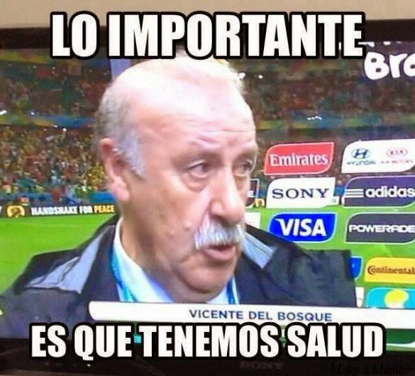Viñeta España Mundial Brasil 2014