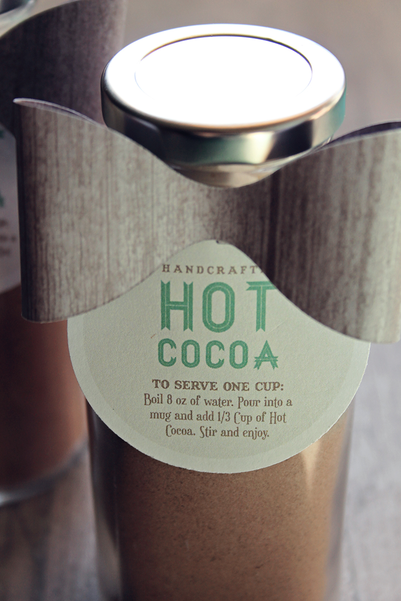 Make Hot Cocoa Milk Bottles