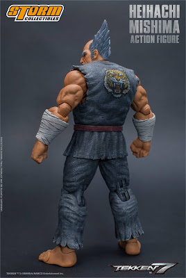"""Fotos e info de """"Tekken 7"""" Heihachi Mishima"""