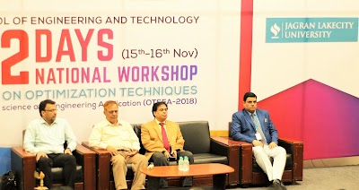 "National workshop on ""Optimization Techniques in Science and Engineering Applications 2018"""
