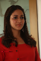Actress Lavanya Tripathi Latest Pos in Red Dress at Radha Movie Success Meet .COM 0182.JPG