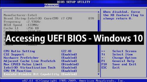 Cara Masuk BIOS Windows 10 (LENGKAP)