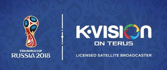 K VISION Menayangkan Piala Dunia 2018 Rusia