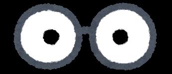 いろいろな目の描かれた眼鏡のイラスト かわいいフリー素材集 いらすとや